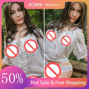 ACSMSI-Realistic TPE sex doll big boobs ass anal vagina sexy adult toy robot life full size