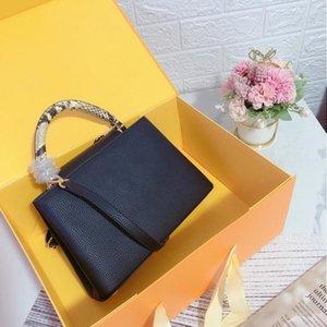 Leathers Leather Genuine Women ShoulderBag Purse Purses Handbags Bag Handbag High Real Ffekk Totes Quality Hbbnm