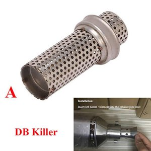 Manifold & Parts Motorcycle Exhaust Pipe DB Killer Removable Muffler Universal 51mm Systems Manifolds Accessories