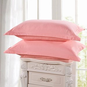 Cushion Decorative Pillow 1 Piece Case Cover Jade Color Brief Style 100% Polyester Pillowcases Bedroom Use Cases 48cm*74cm 55