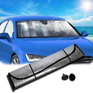 Car Sunshade UV Protection Curtain Auto Windshield Cover Reflective Sun-Shade For Visor Wind Shield