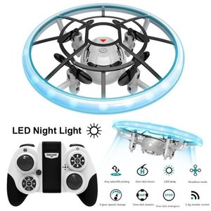 Drones S122 Mini Ufo Lantern Four Axis Air Pressure Fixed Height Remote Control Children's Aircraft Toy Fun Toys To Make Good Memories