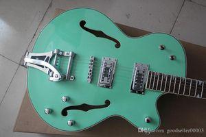 hhhb Wholesale Top quality jazz electric guitar green large rocker guitar
