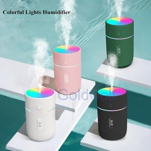 Portable Marquee Humidifier Mist Mini Ultrasonic Car Humidifier with Colorful Lamps USB Office Air Purifier Desktop Aroma Diffuser