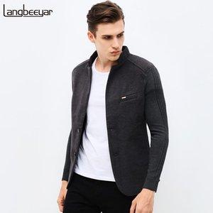 2021 Новая осень зима мода бренд уникальный мужской пиджак куртка шерстяной повседневная Blazer Slim Fit Beatwork рукав мужской костюм куртка1
