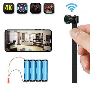 HD 4K DIY Portable WiFi IP Mini Camera Night Vision Remote View P2P Wireless Micro Webcam Camcorder Video Recorder Cameras