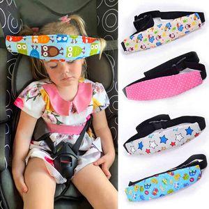 Infant Baby Car Seat Head Support Children Belt Fastening Adjustable Boy Girl Playpens Sleep Positioner Saftey Pillows