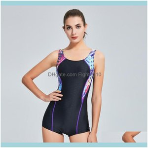 Two-Piece Suits Swimming Equipment Sports & Outdoors Sport Suit Slimming Waterproof One Piece Swimsuit Female Quick Dryin Swimwear Women Pro