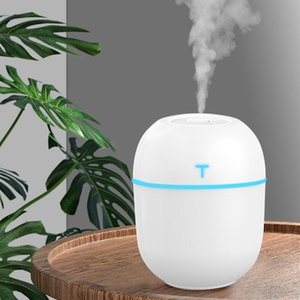 2020 Mini Air Ultrasonic Humidifier 200ML Aroma Essential Oil Diffuser for Home Car USB Fogger Mist Maker with LED Night Lamp