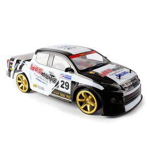1:10 4WD التحكم عن بعد 70km / ساعة سيارة عالية السرعة مع ضوء الانجراف سباق البطارية المزدوجة