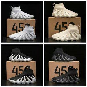 2021 Release Cloud White 450 Triple Black Kanye Running Shoes Sport Top Comfortable Men Women Shoe Sneaker With Box eur 31-48
