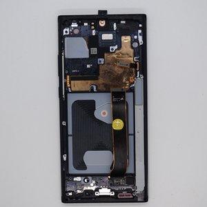 Pantanos táctiles TOUCH TOUCH PANTALLA LCD para Samsung Galaxy Note 20 Ultra N986 Montaje digitalizador de pantalla AMOLED con marco negro