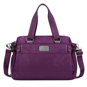 Duffel Bags Fashion Ladies Portable Large Capacity Winter Day Korean Unisex Shoulder Bag Nylon Travel