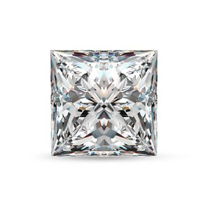 Loose Gemstones Moissanite Diamond 5mm 0.8ct D Color VVS1 Princess Cut Gem Stone Lab Grown Undefined For Diamond Ring Wholesale