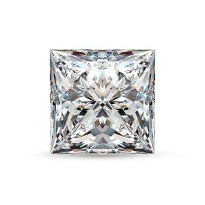 Loose Gemstones Moissanite Diamond 5mm 0.8ct D Color VVS1 Princess Cut Gem Stone Lab GrownUndefined For Diamond Ring Wholesale