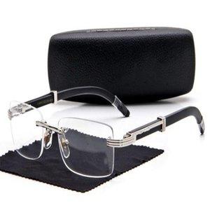 نظارات شمسية خشبية الرجال بوفالو سوليل أقدام جديدة سوداء اللينات القرن نظارات معدنية الذهب الإطار دي مارك دي نظارات الشمس