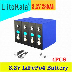 4PCS LiitoKala 3.2V 280Ah lifepo4 battery DIY 12V rechargeable cell pack for E-scooter RV Solar Energy storage system 2 order