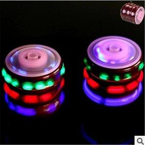 Colorful Flash LED Light Spinning Top Laser Music toys Gyroscope Imitation wood gyro Kid's Luminous Boys Girl Fun