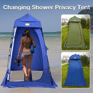 الخيام والملاءات المحمولة التخييم خيمة دائم للماء المعطف واقية من الشمس مساحة كبيرة في الهواء الطلق تغيير غرفة دش الخصوصية