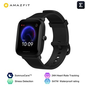 In stock Original Amazfit Bip U Smartwatch 5ATM Water Resistant Color Display Sport Tracking Smart Watch For Android iOS Phone