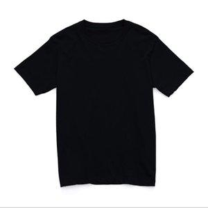 EY68712021 Massive schwarze T-shirts Weiße Herren Frauen Mode Männer S Casual Tshirts Mann Kleidung Straße Shorts Sleeve 21ss Kleidung
