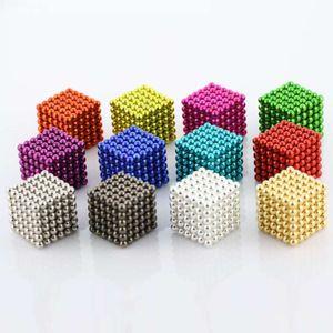 ألعاب لغز الأطفال ND-FE-B المغناطيسي 5 ملليمتر 216 الإبداعية الضغط باك الكرة الاستخبارات روبيك مكعب