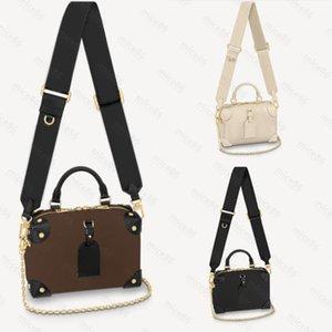 Top quality Women's men Crossbody Waist Bags fashion tote famous PETITE MALLE SOUPLE free MON0GRAM Shoulder Bag Purse Luxury Genuine Leather Handbags hobo Handbag