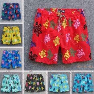 Vilebrequin hombres verano nadar tortugas cortas bermudas pantalones cortos de playa más reciente verano pantalones cortos casuales hombres estilo moda para hombre pantalones