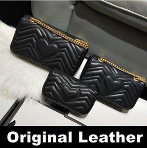 Top Qualität Frauen Marke Mode Marmont Luxurys Designer Taschen Echtes Leder Crossbody Handtasche Geldbörsen Rucksack Umhängetasche 3 Größe 01