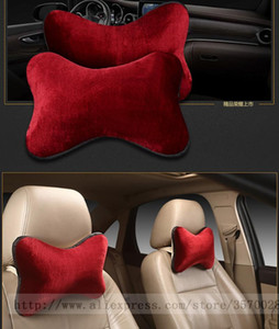 Seat Cushions 2021 Brand Keep Warm Car Neck Pillows Artificial Single Headrest Fit For Most Cars Filled Fiber Universal Pillow