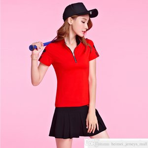 339# Real Shot Spot 2021 New Summer Tennis Sportswear Casual Kindergarten Clothes Short Sleeve Skort Suit for Women