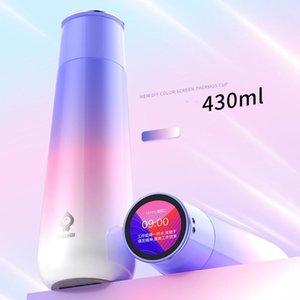 Water Bottles Temperature Bottle Aesthetic Digital Gift App Luxury Sport Designer Coffee Garrafa Termica Home Garden ZZ50BB