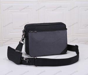 Men's handbag Luxury Designer Bag 2021 High quality classic three - piece messenger bag cross - body bag owner recommended!