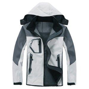 Унисекс лыжный пальто Теплая зимняя водонепроницаемая ветровка с капюшоном плащ куртка ветрозащитный 14 ноября