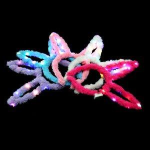 2021 Factory Plus 14 Peluche Light Peluche Orecchie ad orecchi per capelli per spingere il nuovo anno Capannone per i giocattoli di Emitting di Light-Emitting Concert Hot Produttori.