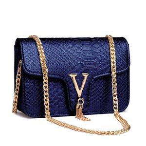Crocodile Chain Small Crossbody Bags for Women 2021 Luxury Brand Leather Shoulder Bag Female Fashion Trend Designer Handbags