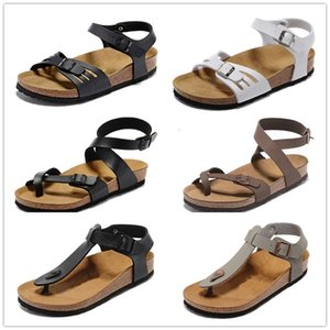 sale-2021 Women Summer shoes,Flip-flops jelly Casual sandals,flat bottomed slippers,Cork slippers, Beach Shoes