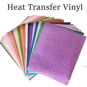 Heat Transfer Vinyl Glitter Lettering Film HTV Clothing Fabric Heat Transfer Heat Transfer Hot Stamping Film DHF5757