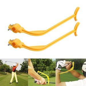Guida pratica Golf Golf Swing Trainer principiante ALINEMENT CLUBS Gesto Gesto CORRETTO POLSORE ALIMENTAZIONE AIDS AIDS ACCESSORI ACCESSORI