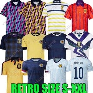 1978 Final de la Copa Mundial Scotland Retro Fútbol Jersey 2021 1982 1986 1991 1993 1998 1988 1989 91 93 95 96 98 Maillots Classic Vintage Ocio Hendry Lambert Football Shirt