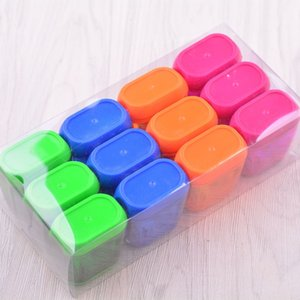 Manual Pencil Sharpeners Double Holes Sharpener with Lid Colored Pencil Sharpeners for Kids Plastic Pencil Sharpeners for School Office Home Supply