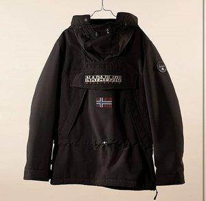 NAPA Dicke Baumwolljacke ohne Reißverschluss Haube Designer Männer Kleidung Hohe Qualität Marke Hoodie Mode Luxus Luxus bedruckt Mantel1 Fashi