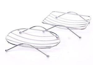 Scatola per barra di scarico dell'acciaio inossidabile dell'ingrosso del piatto di sapone all'ingrosso per il bagno della doccia da cucina Spugna a prova di ruggine