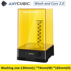 2020 Newest ANYCUBIC Wash and Cure Machine 2.0 Washing Model and Curing Model 2-in-1 UV Resin Curing for 3d Printer Impresora 3d