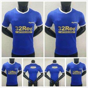 탑 플레이어 버전 22 22 레인저스 글래스고 축구 유니폼 2021 2022 축구 셔츠 챔피언 디프 워터 Morelos Kent Aribo Arfield 150 년 꽉 키트