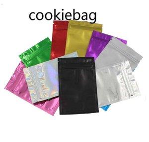 Colorful Doypack Aluminum Foil Zip Lock Packaging Bag Resealable Ziplock Mylar Candy DIY CrSDFSDFS afsg