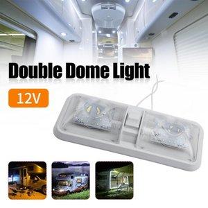 Car Headlights Floodlight LED RV Ceiling Dome Light Bright Soft Switch Designed Adjustable Lamp Automotive Interior Supplies Drop