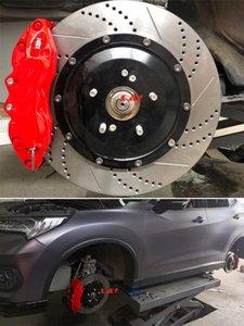 KLAKLE Brakes Kit Full Floating Set 9040 Car Caliper 362*32MM Brake Disc 19 Inches Front Rim For Honda Acura CDX