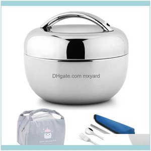 Boxes Kitchen Housekeeping Organization Home & Gardenvacuum Thick Stainless Steel Food Storage Container Thermos Portable Picnic Bento Lunch