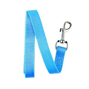 Width 1.5cm Long 120cm Nylon Dog Leashes Pet Puppy Training Straps Black Blue Dogs Lead Rope Belt Leash 241 V2